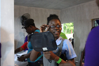 Buy a Pair of Glasses for Someone in Need and We Will Match Your Donation! Eye Love