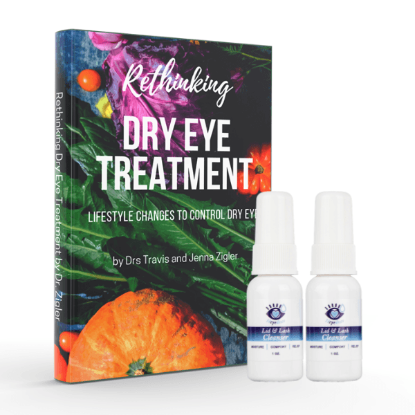 Rethinking Dry Eye Treatment Book + BUY 1 GET 1 50% OFF | Heyedrate Lid & Lash Cleanser Books Eye Love, LLC