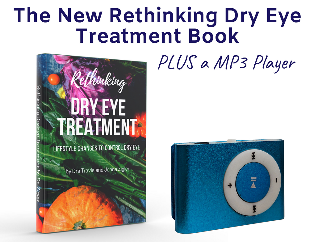 Rethinking Dry Eye Treatment Paperback Book + Audio Book MP3 Player
