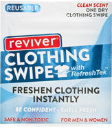Wipes: Reviver Clean Scent One Dry Clothing Swipe