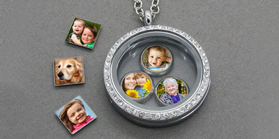 Floating Lockets and Photo Charms For Floating Lockets