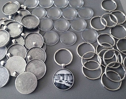 Photo Jewelry Key Chain Kit Makes 10