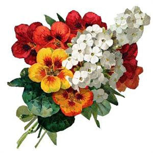 Free Vintage Flower Bouquet Image - Photo Jewelry Making