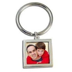 20 Pack Instant Photo Keychains - Just Slide In Your Photos!