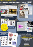 EZ Photo Cropper With EZ Photo Resizer Scrapbook Software for Mac Download - Photo Jewelry Making