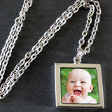 Instant Photo Necklace Kit - Just Slide In Your Photos!