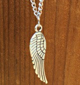 Angel Wing Pendant Memorial Keepsake Necklace