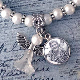 Mini Memorial Angel Photo Bracelet Kit