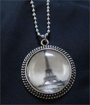 Makes 10 Vintage Glass Photo Pendants Kit