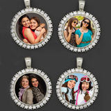 Friends Forever Bridesmaids Rhinestone Wedding Bouquet Photo Charms Kit Makes 4