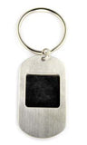 Dog tag style Photo Key Chain.