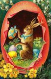 Free Vintage Easter Bunny Clip Art - Photo Jewelry Making