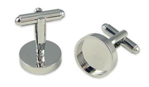 Round Photo Cufflinks - Photo Jewelry Making