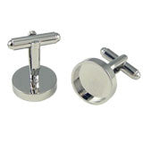 Round Photo Cufflinks Photo Jewelry