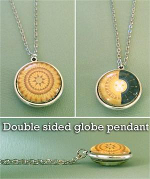 Domed Photo Jewelry Necklace Double Sided Photo Jewelry