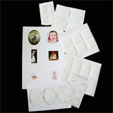 Krystal Clear-Itz Covers - Select Size PACKS OF 10 - Photo Jewelry Making