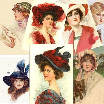 Vintage Ladies Images Download 30+ Graphics - Photo Jewelry Making