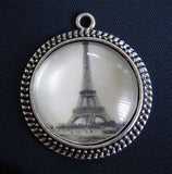 20 Pack Glass Dome Photo Jewelry Antique Silver Pendant 30m