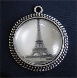 20 Pack Glass Dome Photo Jewelry Antique Silver Pendant 25mm Photo Jewelry