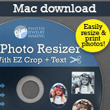 MAC VERSION EZ Photo Resizer With EZ Crop Program - Download - Photo Jewelry Making