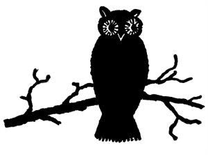 Free Owl Vintage Graphic to Download - Photo Jewelry Making