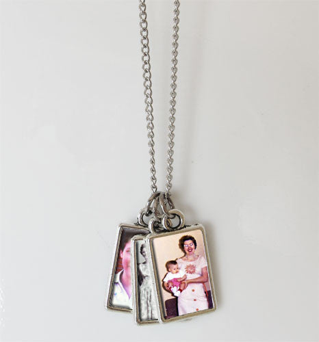 Mini Photo Album Necklace Kit - Photo Jewelry Making