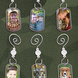 Dog Tags Holiday Photo Ornaments Kit