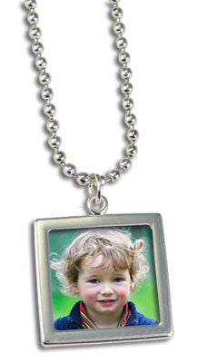 Super Easy Change Photo Jewelry Necklace Kit  Double Sided!