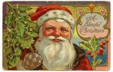 Free Vintage Christmas Santa Graphic To Download