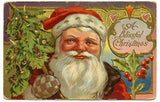 Free Vintage Christmas Santa Graphic To Download - Photo Jewelry Making
