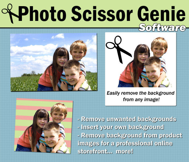 Photo Scissors Genie Software Download for Mac Version - Photo Jewelry Making