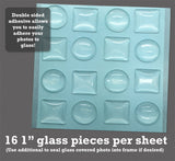 Instant Seal-Itz for Glass Photo Jewelry Making - 1 Full Size Sheet
