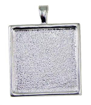 25 Shallow Photo Jewelry Pendants w/ 25 Krystal Clear-Itz - Photo Jewelry Making
