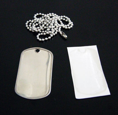 Make Your Own Instant Photo Dog Tag Kit - Photo Jewelry Making