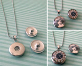 Changeable Snap In Photo Jewelry Pendant Kit - Photo Jewelry Making