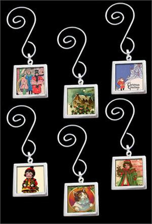 Make Your Own Photo Christmas Ornaments Kit  Double-Sided Square 6