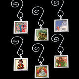 Make Your Own Photo Christmas Mini Tree Ornaments Kit  Double-Sided Square 6