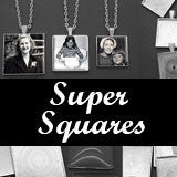 30 Pack Super Squares Photo Jewelry Pendant Variety Home Business Kit 3 Sizes!