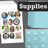 Instant Glass Photo Jewelry Making Supplies Starter Kit Special Value Pack