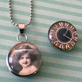 Changeable Snap In Photo Jewelry Pendant Kit