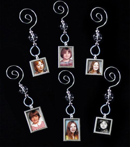 24 Pack Through The Years Photo Ornament Kit - Photo Jewelry Making