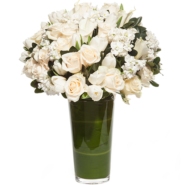 Tall Pure Gift Arrangement
