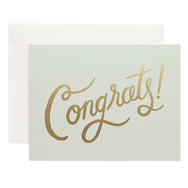 Timeless Congratulations Greeting Card