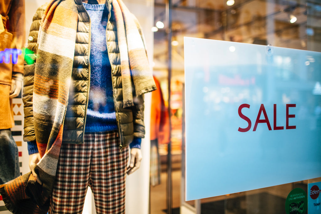 Do you sell clothes? then you are most likely part of the problem
