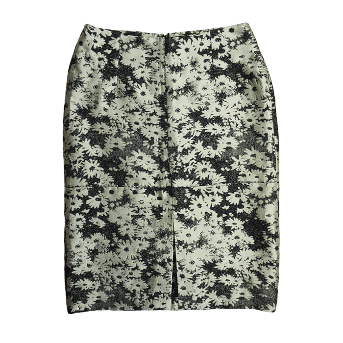 Stella McCartney Nina Floral-Jacquard Skirt