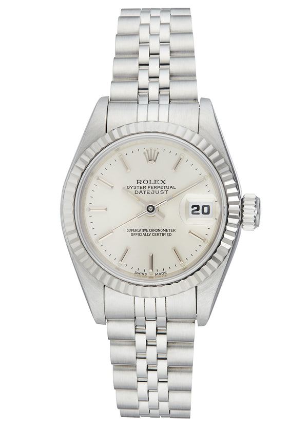 Rolex Ladies Datejust, Silver Dial. Ref: 69174 (Papers 1994)