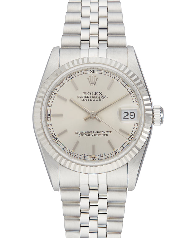 Rolex Midsize Datejust Steel, Ref: 68274 (Papers 1998)