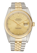 Rolex Datejust Steel & Gold, Ref: 16233 (1989)