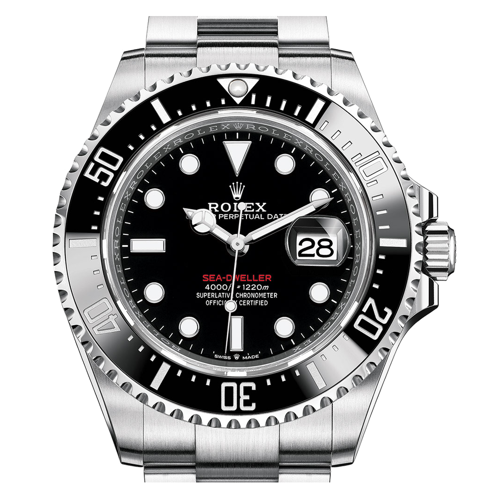 Rolex Sea-Dweller Red Writing, Ref: 126600 (Stickers - Unworn 2020)