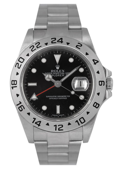 Rolex Explorer II Watch Black Dial (With Papers), Ref: 16570